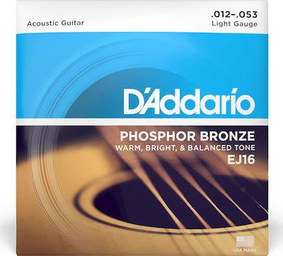 main D'Addario EJ-16 Light