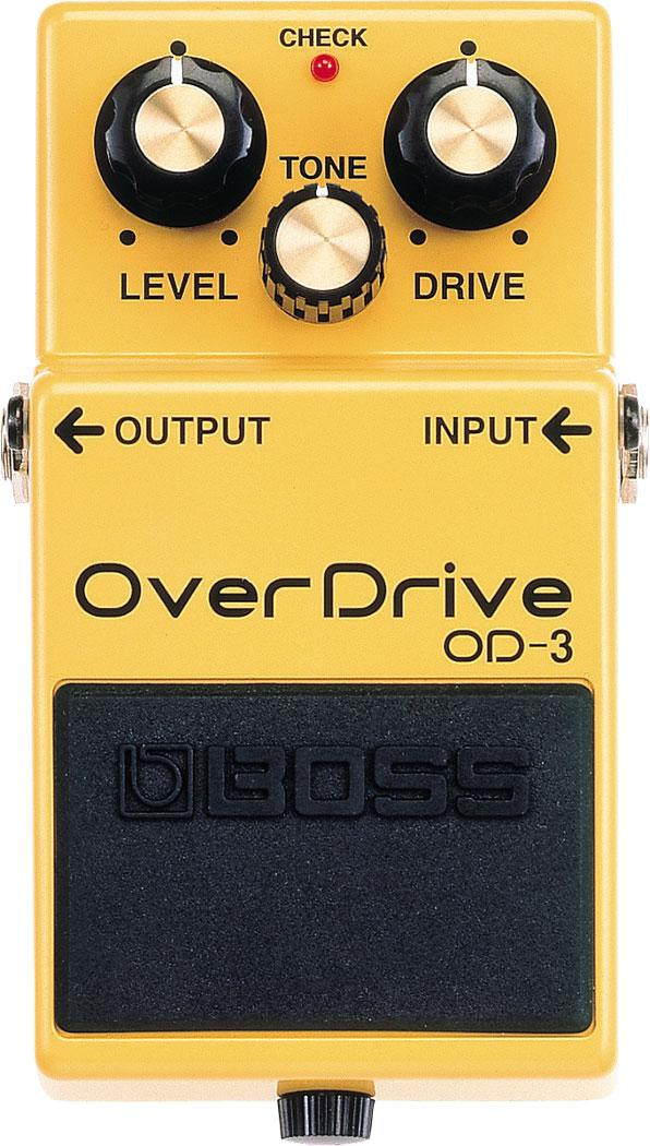 Boss OD-3 Turbo Overdrive